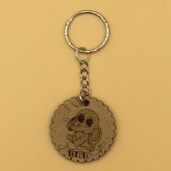 Porta-chaves em mdf natural ELI V2